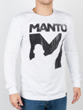 MANTO longsleeve VICTORY white