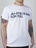 MANTO t-shirt BAD FOR YOU white