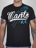 MANTO t-shirt JERSEY black