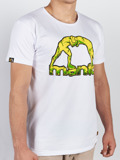 MANTO t-shirt STONE white