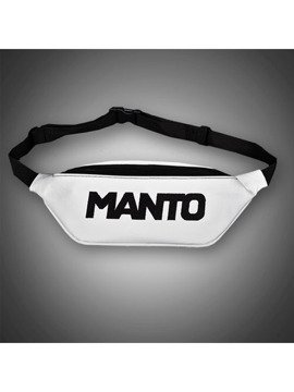 MANTO beltbag LOGOTYPE white