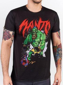 MANTO t-shirt MONSTER schwarz