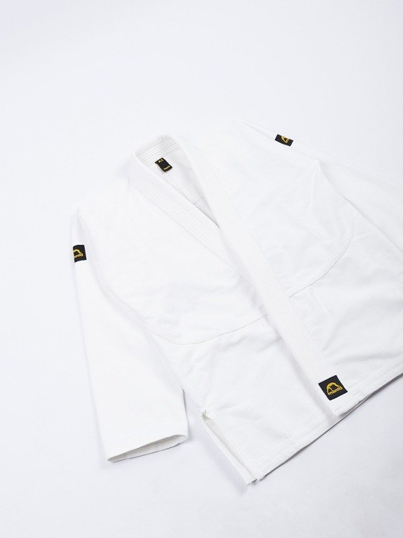 "MANTO ""BASE"" BJJ GI weiss V1 + white belt"