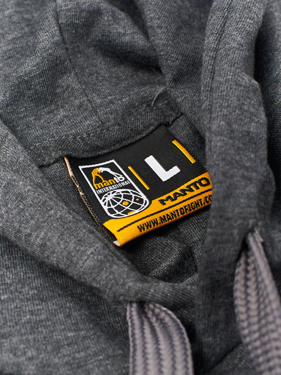 MANTO Kapuzen-Sweatshirt CHAMP graphite