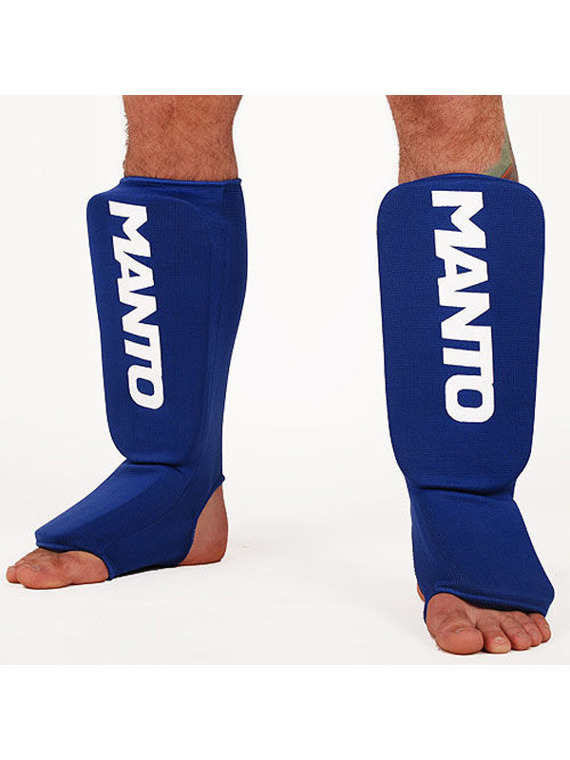 "MANTO ""LOGOTYPE"" Shinpad blue"