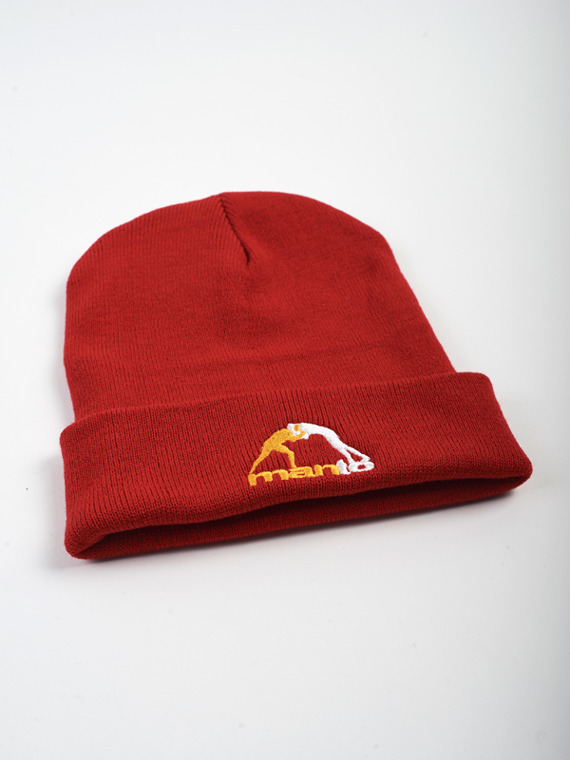 MANTO beanie CLASSIC rot