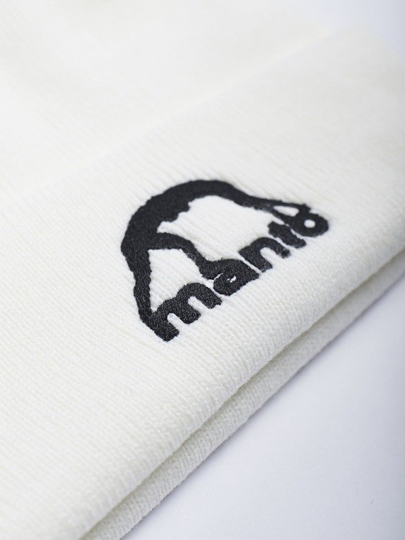 MANTO beanie VIBE weiss