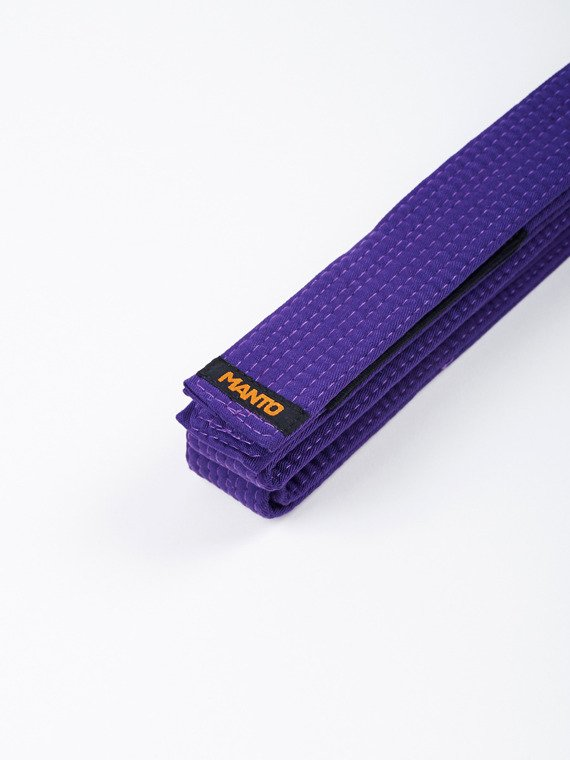 MANTO belt BJJ LABEL purple