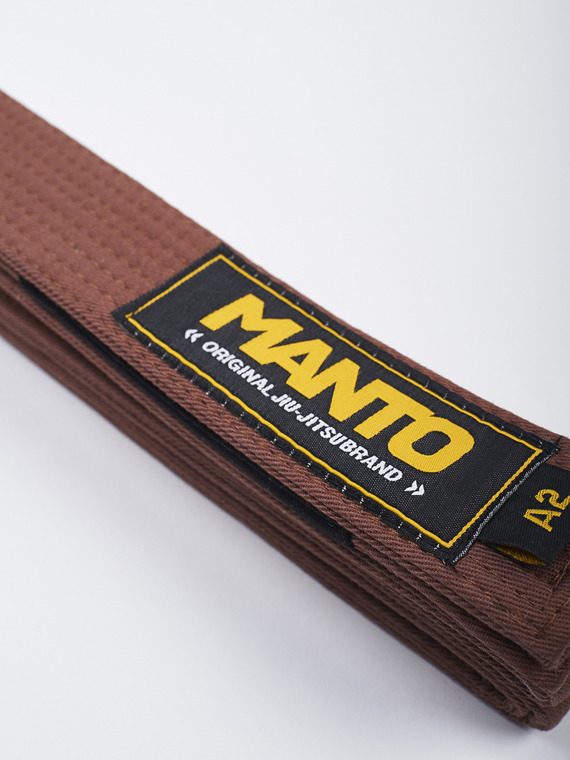MANTO belt BJJ ORIGINAL brown