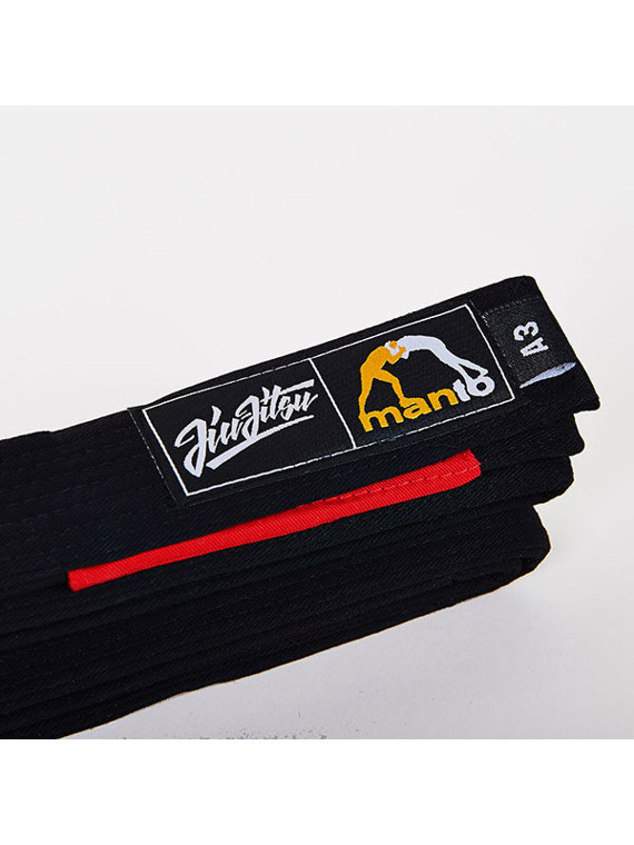 MANTO belt BJJ black