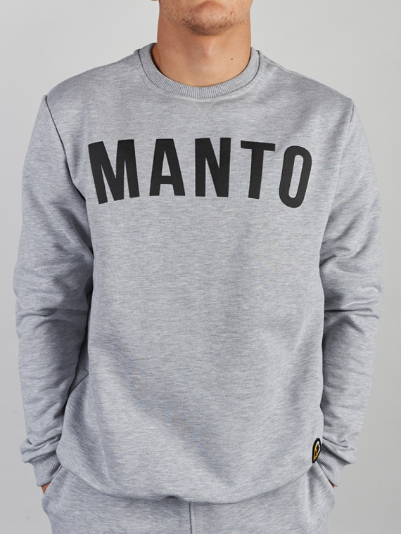 MANTO crewneck ARC light melange