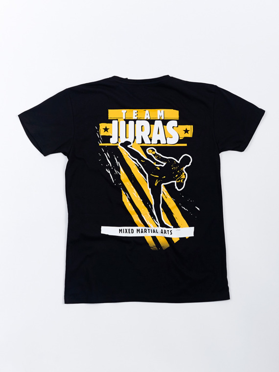MANTO fan support t-shirt TEAM JURAS schwarz