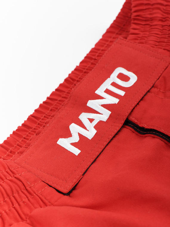 MANTO fight shorts BASICO rot