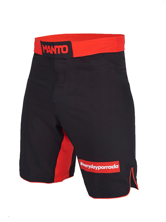 MANTO fight shorts EVERYDAYPORRADA schwarz