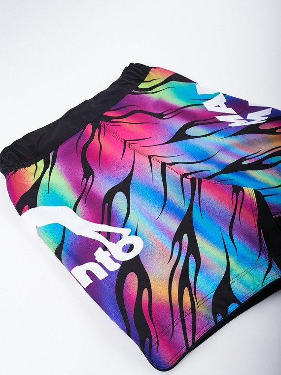 MANTO fight shorts FLAME