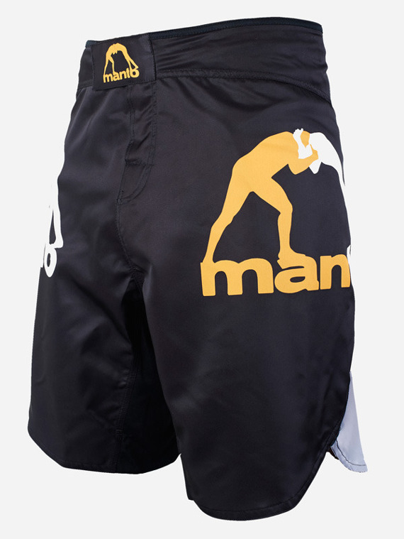 MANTO fight shorts GRADIENT schwarz