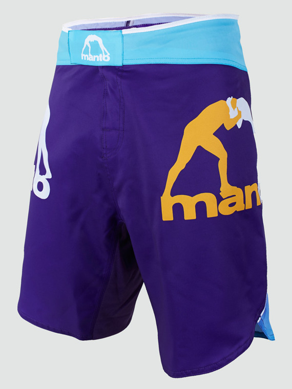 MANTO fight shorts GRADIENT violett