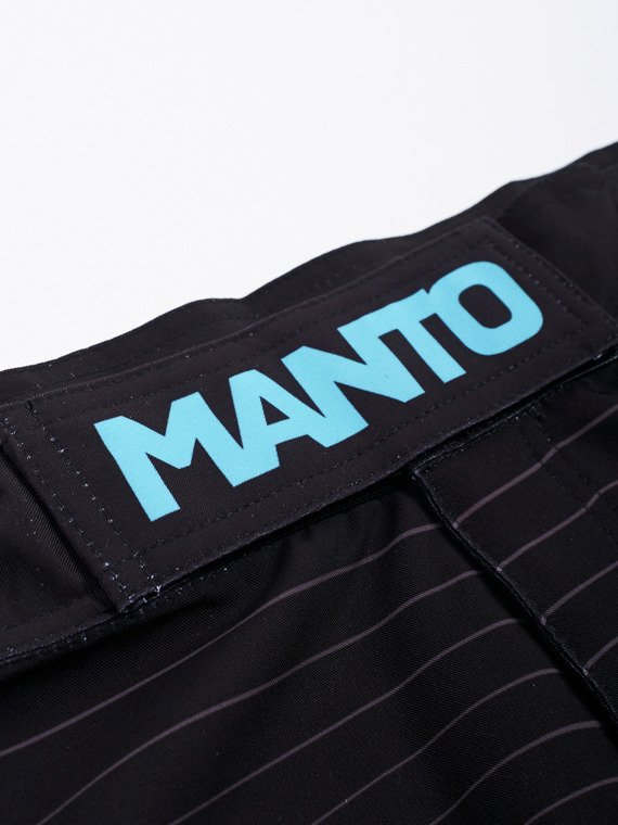 MANTO fight shorts LINES schwarz