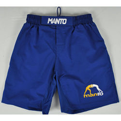MANTO fight shorts LOGO RipStop 2 blue