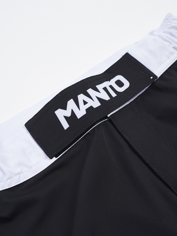 MANTO fight shorts STRIPE schwarz