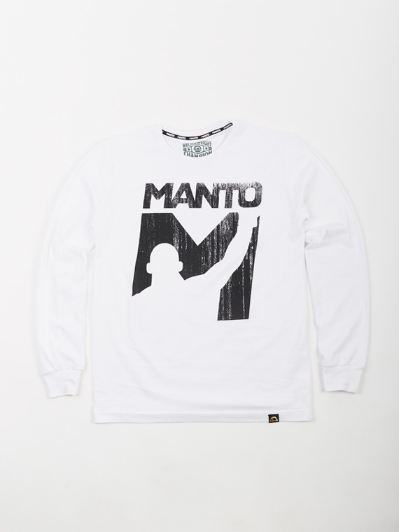 MANTO longsleeve VICTORY weiss
