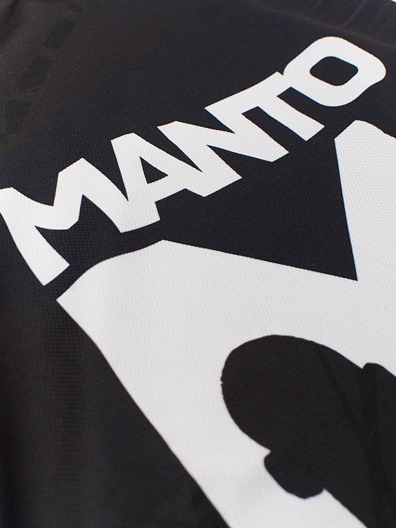 MANTO mesh shorts ICON schwarz