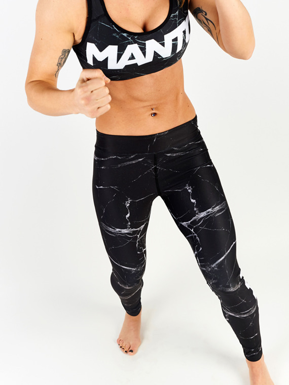 MANTO sports bra BLACK