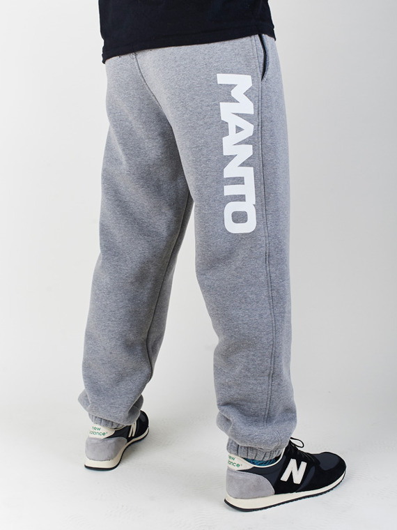 MANTO sweatpants CLASSIC melange