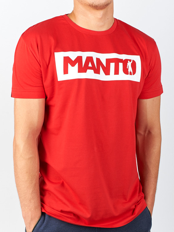 MANTO t-shirt CHAMP rot