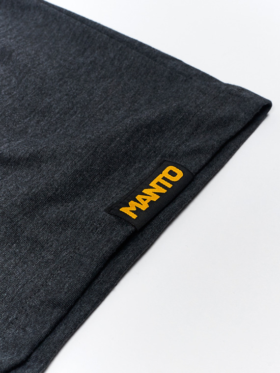 MANTO t-shirt EMBLEM graphit