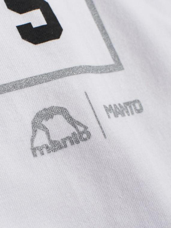 MANTO t-shirt ICON weiss