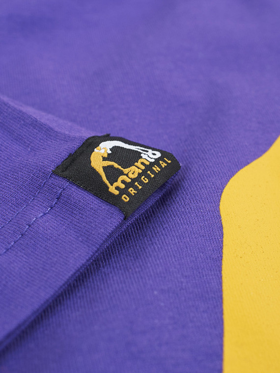 MANTO t-shirt LOGO VIBE purple