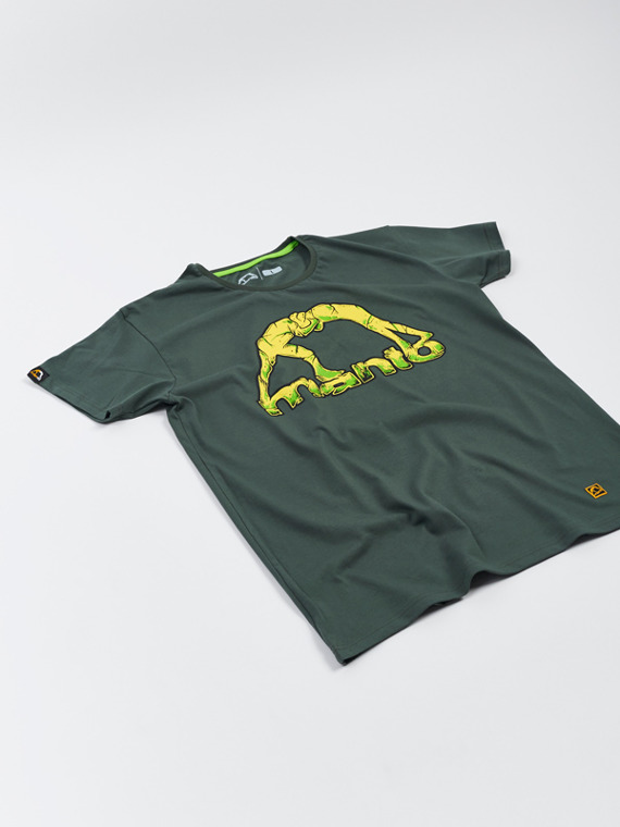 MANTO t-shirt STONE jungle green