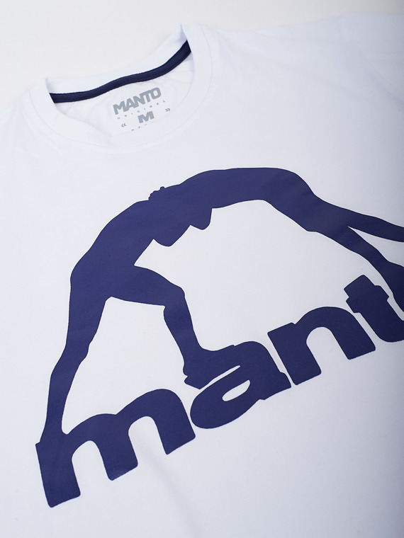 MANTO t-shirt VIBE weiss