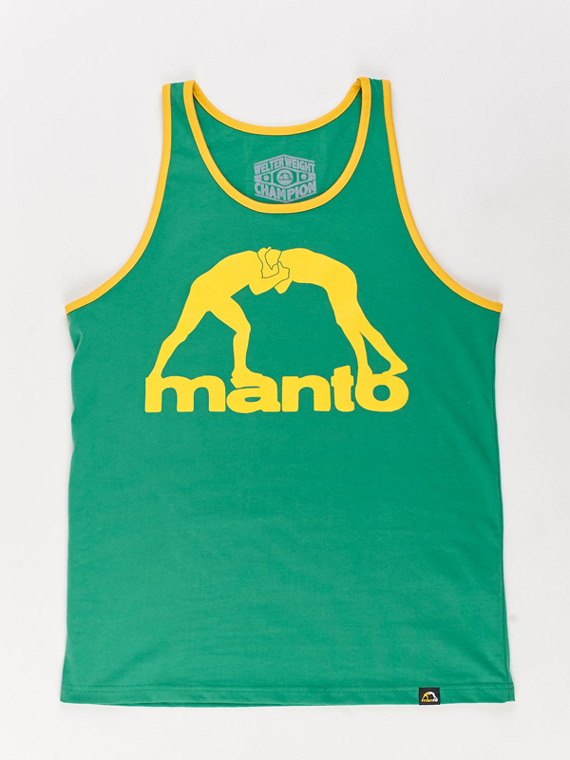 MANTO tank top VIBE green