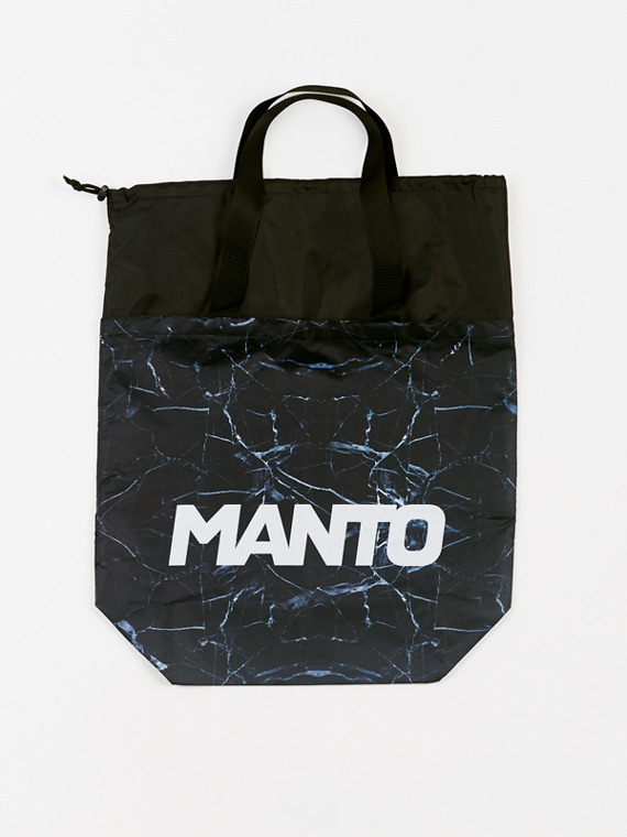 MANTO tote gym bagbag BLACK