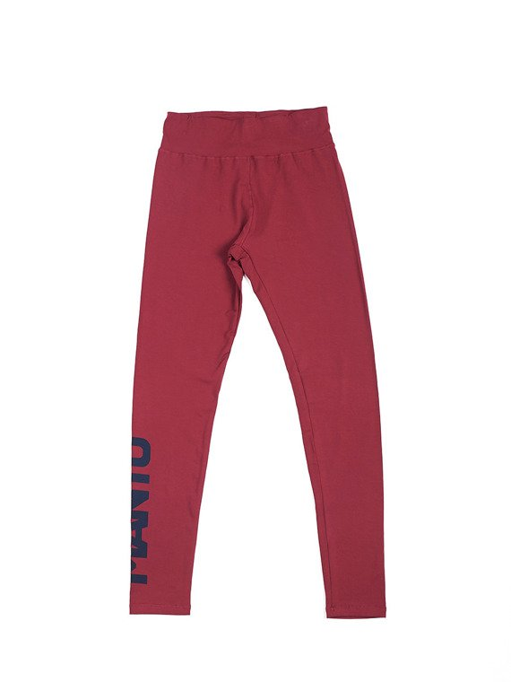 MANTO training leggings SPORT maroon