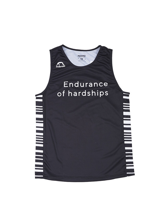 MANTO training tank top ENDURANCE schwarz