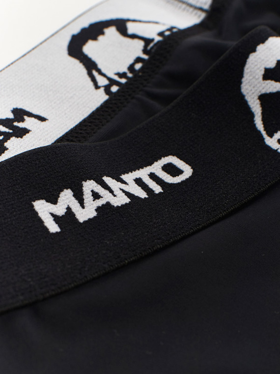 MANTO trainings-kompressionshose BASICO schwarz