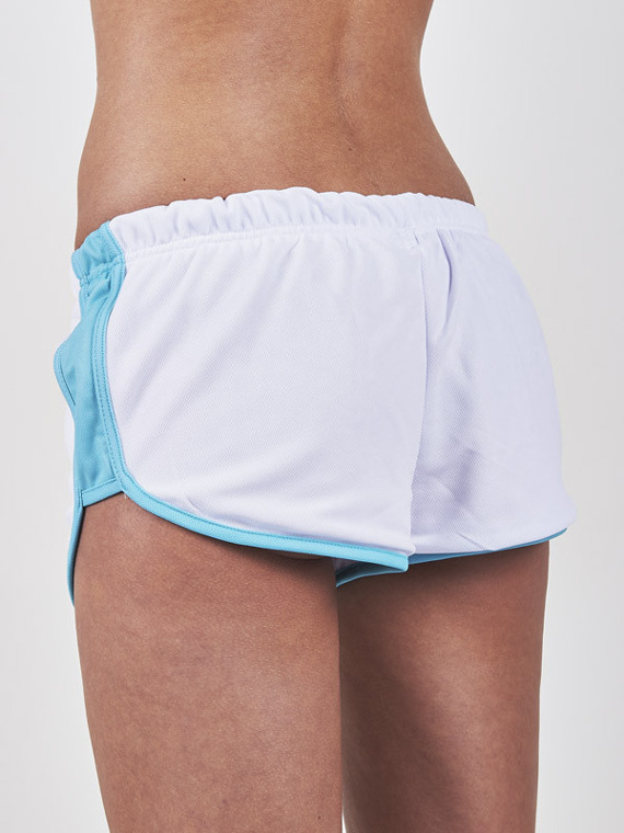 MANTO women's fit shorts ANGIE white