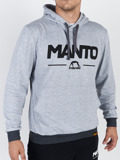 MANTO Kapuzen-Sweatshirt COMBO LIGHT melange