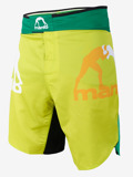 MANTO fight shorts GRADIENT gelb