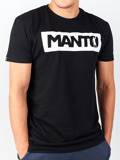 MANTO t-shirt CHAMP schwarz