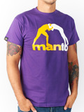 MANTO t-shirt CLASSIC  purple