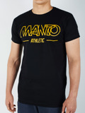 MANTO t-shirt FUTURE schwarz