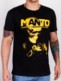 MANTO t-shirt NEW SKULL schwarz