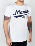 MANTO t-shirt NUMBER ONE weiss